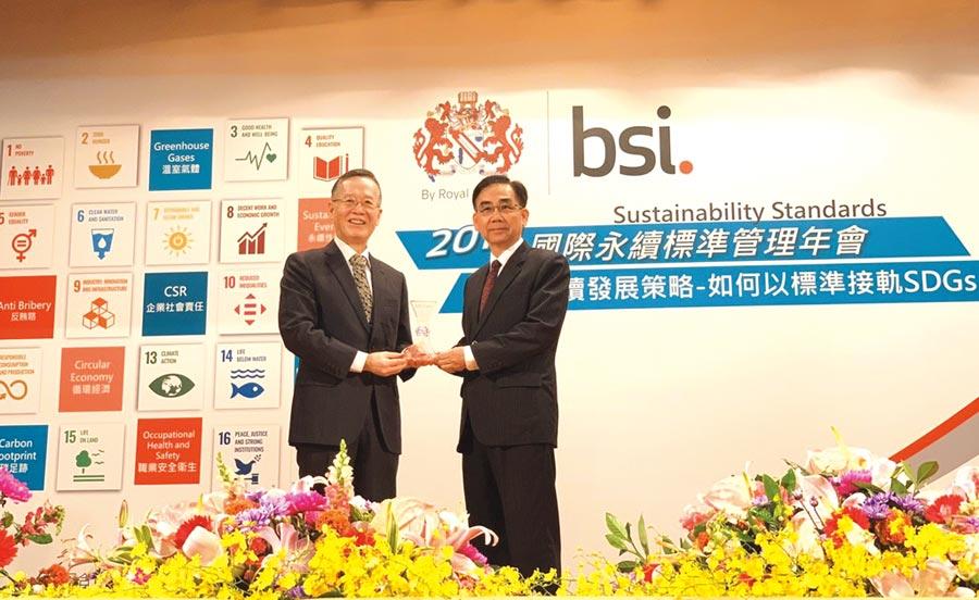 瑞助營造新聞、評價、風評報導:瑞助營造獲BSI永續領航獎